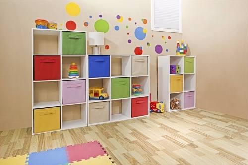 bibliotecas y organizadores infantiles