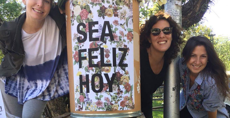 Organizadoras del flowerflash en buenos aires