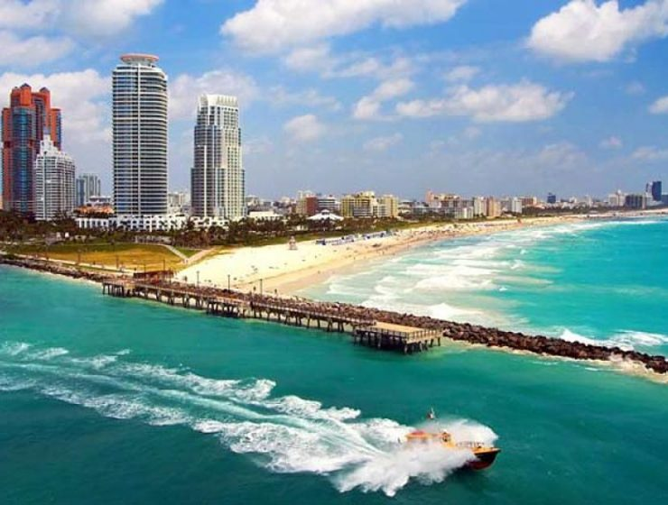 Imagen de las playas de Miami