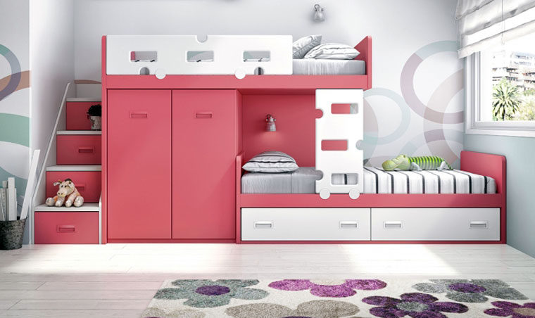muebles para cuartos infantiles