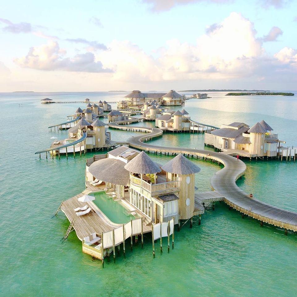 islas maldivas conoc uno de los hoteles m s lindos del