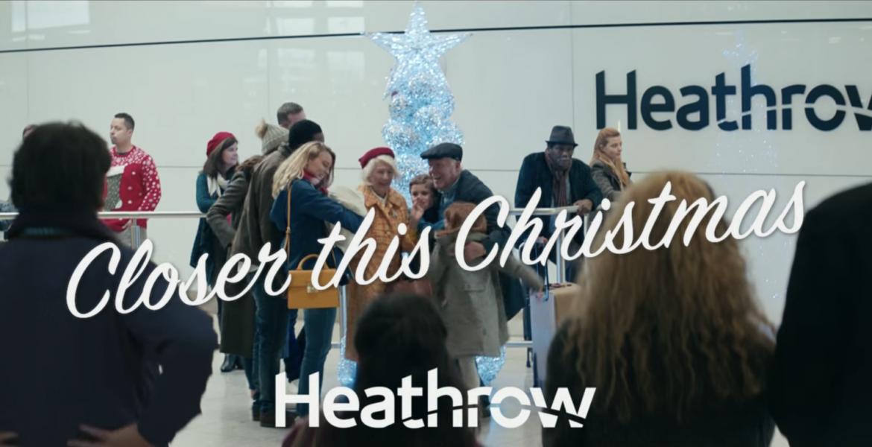 Aeropuerto Heathrow Navidad Anuncio