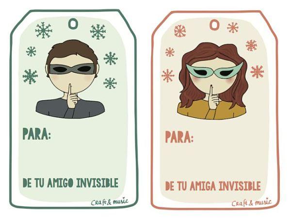 navidad amigo invisible