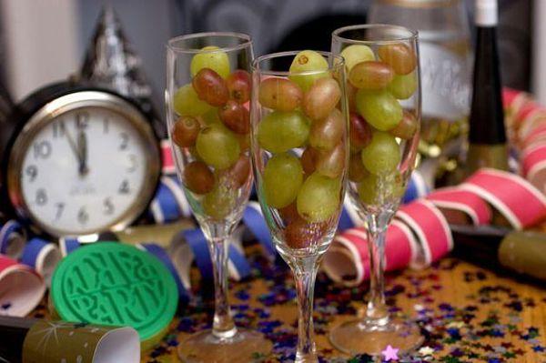 uvas para año nuevo
