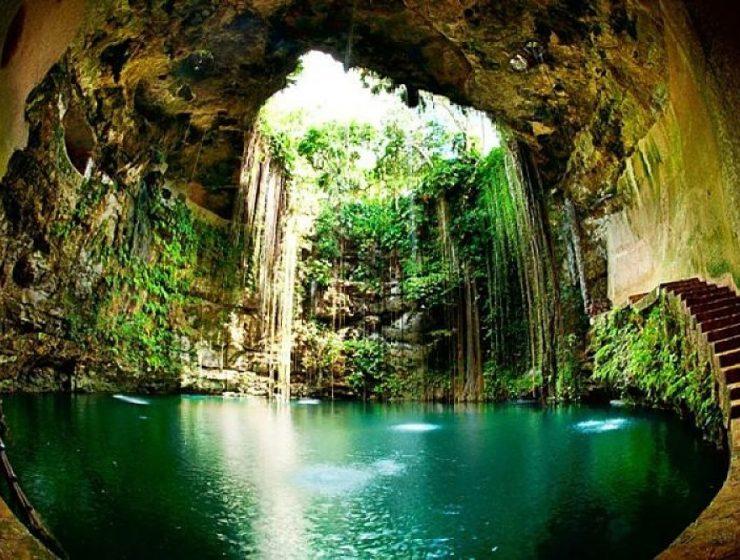 península de yucatán: cenotes o cavernas de agua