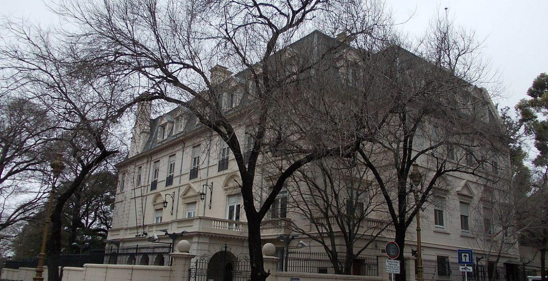 embajada britanica
