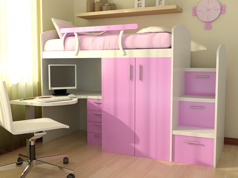 camas para nenas
