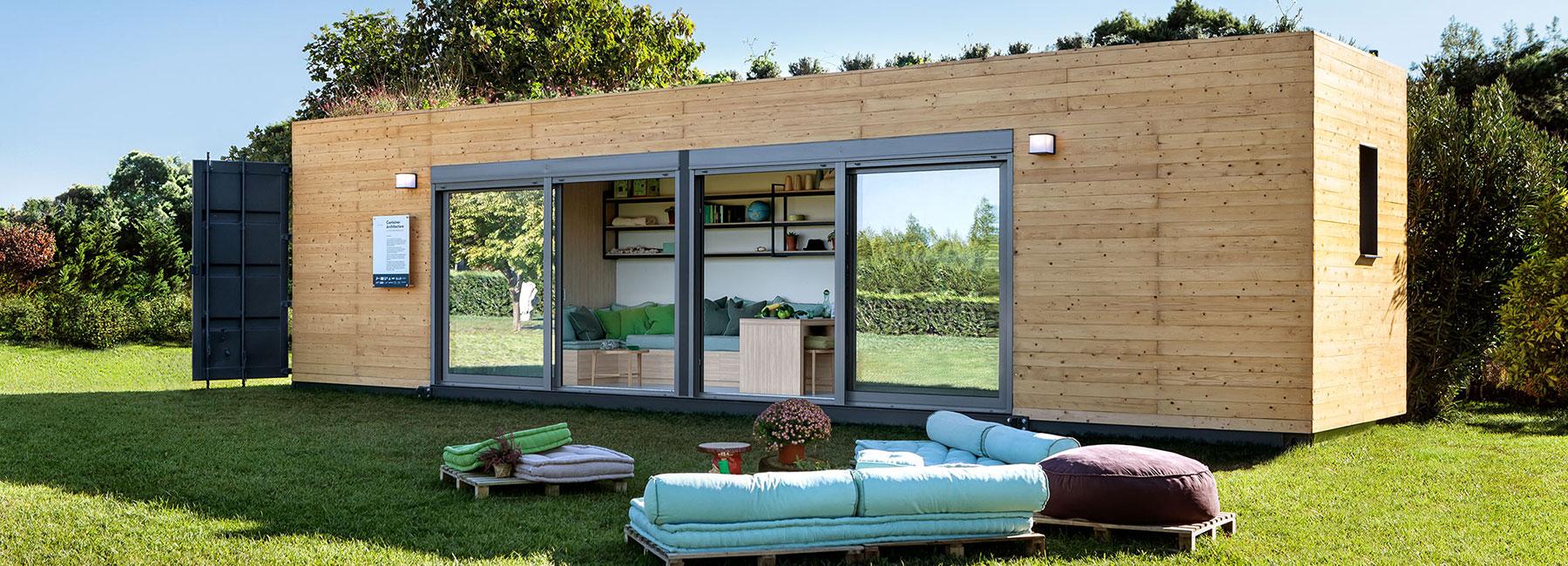La vivienda n made y eco sustentable a mitad de precio y - Container casa precio ...