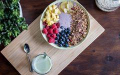 como hacer snacks con frutas