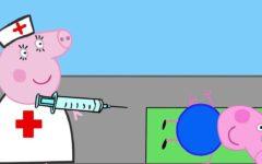 peppa pig médicos
