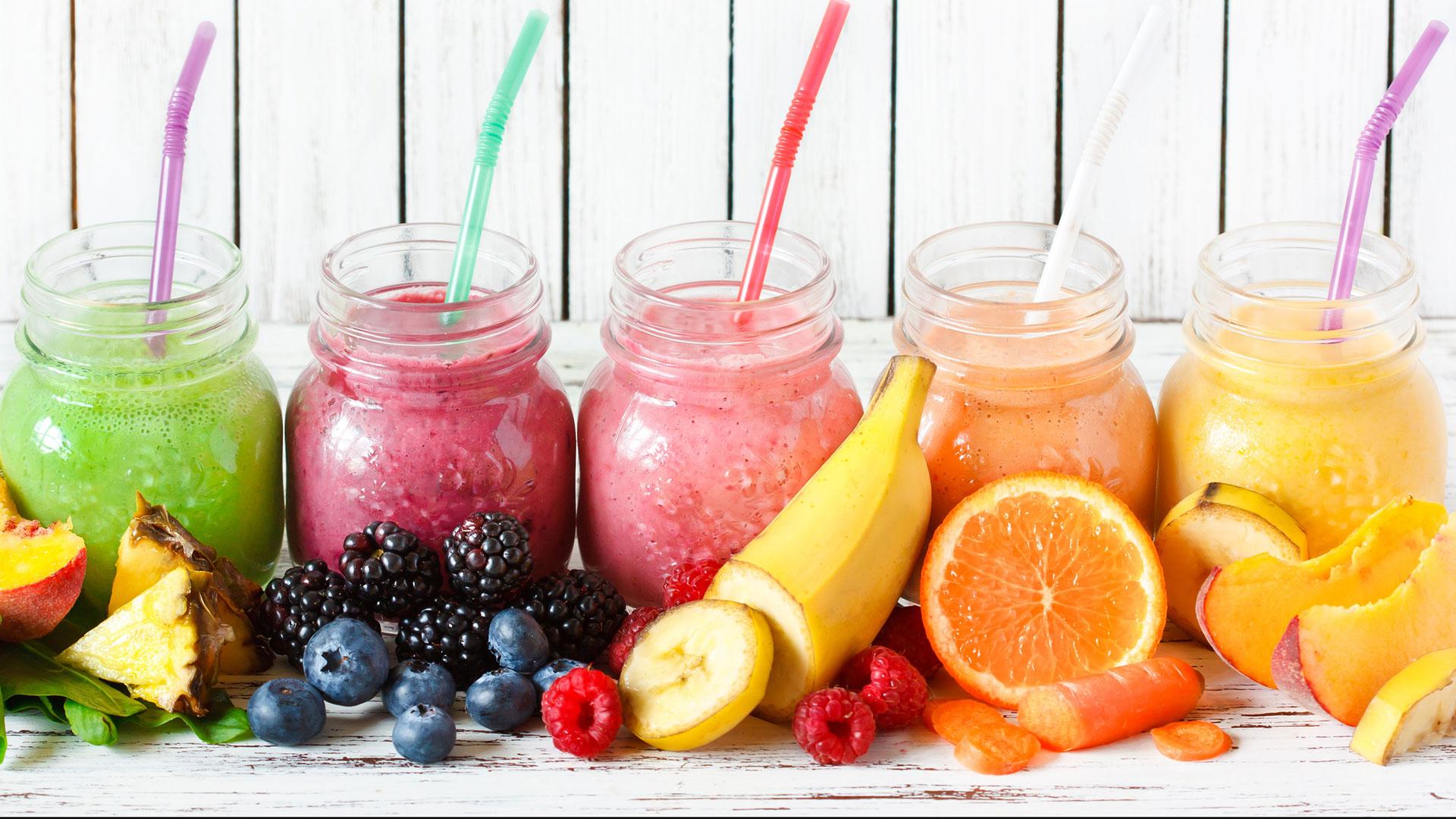 licuados de frutas saludables