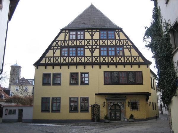 Hochzeitshaus, uno de los edificios más famosos de Hamelín