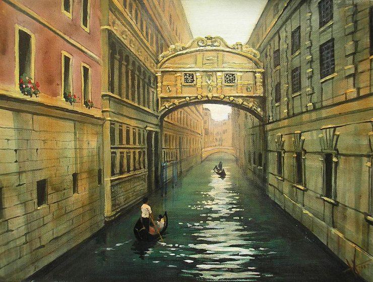Puente de los Suspiros Venecia