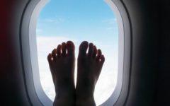 volar descalzo