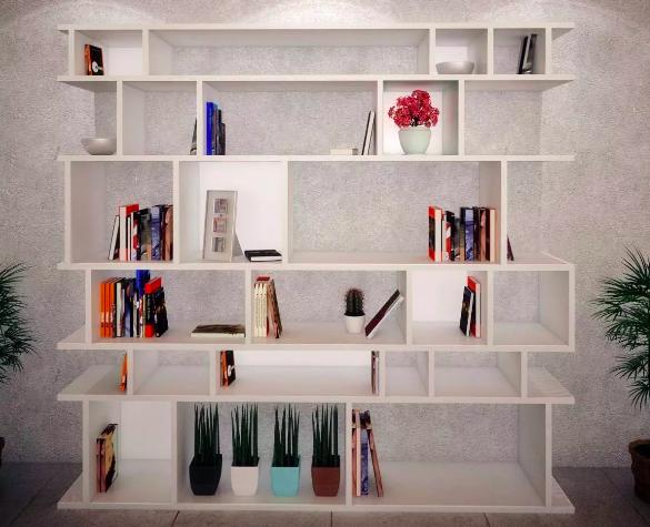 como hacer una biblioteca casera