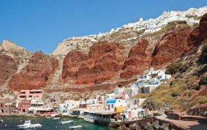 Origen de Santorini