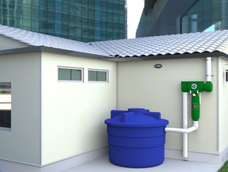 cómo instalar un tanque de agua