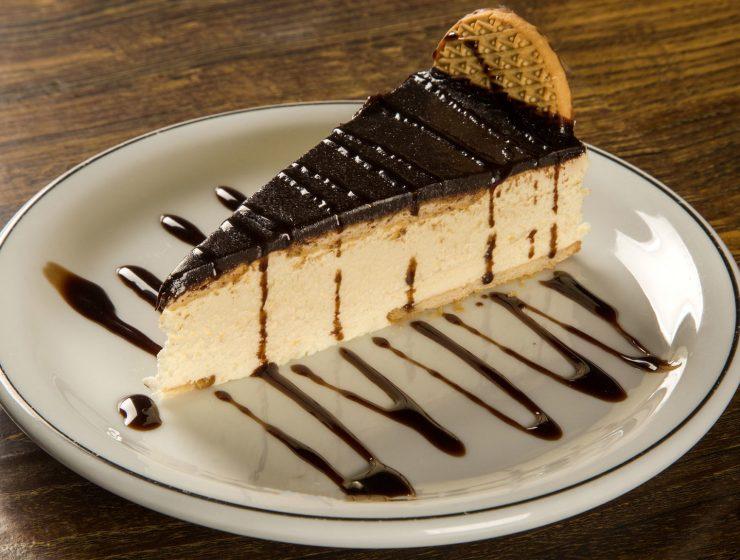 tarta de limon y chocolate