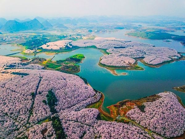 china en primavera