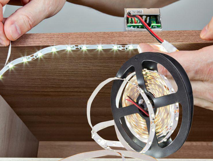 cómo conectar tiras de led