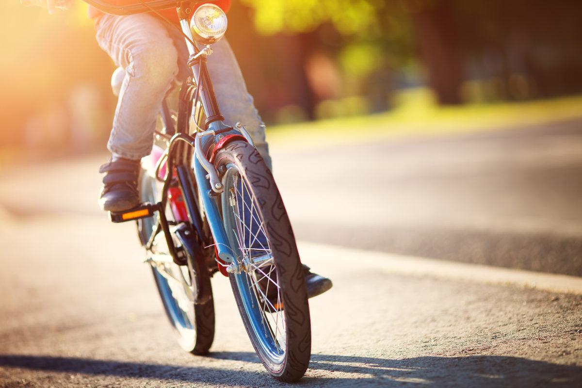 como andar en bicicleta