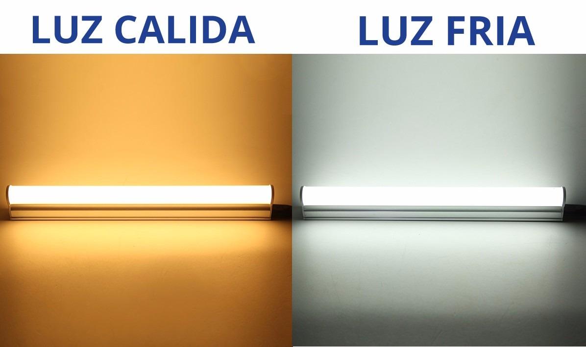 luz led blanca y azul