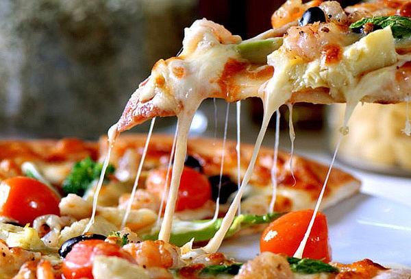 pizza de zanahorias