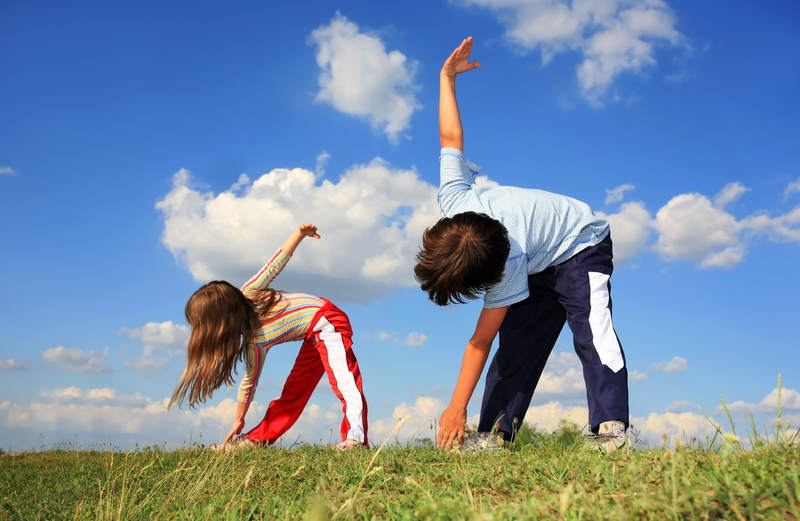 actividad fisica en niños