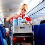 beber en el avion