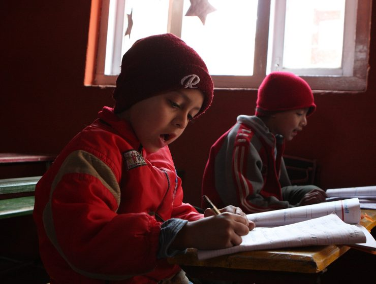 pobreza educacion