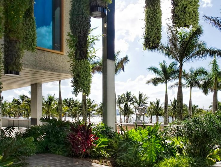 Vista del Museo Perez Art, Miami, ciudad cultural