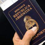 pasaporte argentino en italia