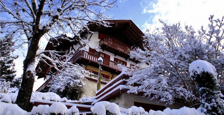 La Cumbrecita primera nevada