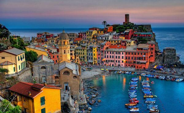 recorriendo la riviera italiana