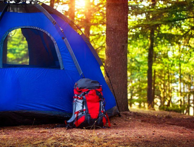 mochilas de campamento