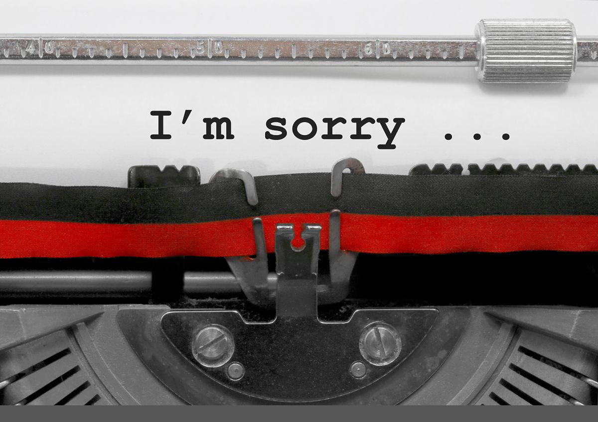 pedir perdon