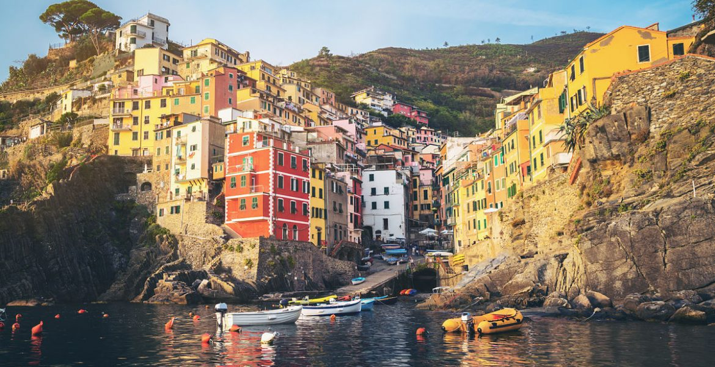 Cinque Terre en la rivera italiana
