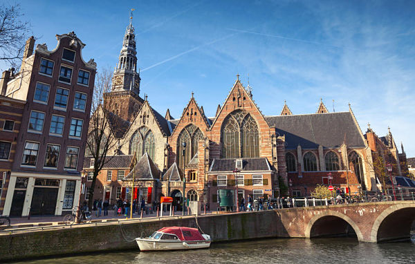 pasear en amsterdam