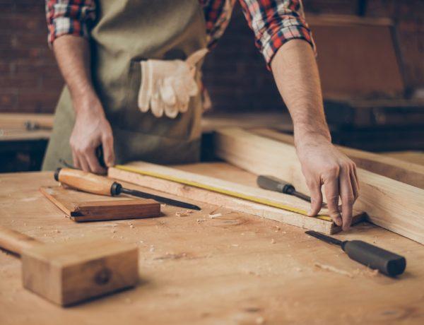 Cómo hacer una mesa de madera
