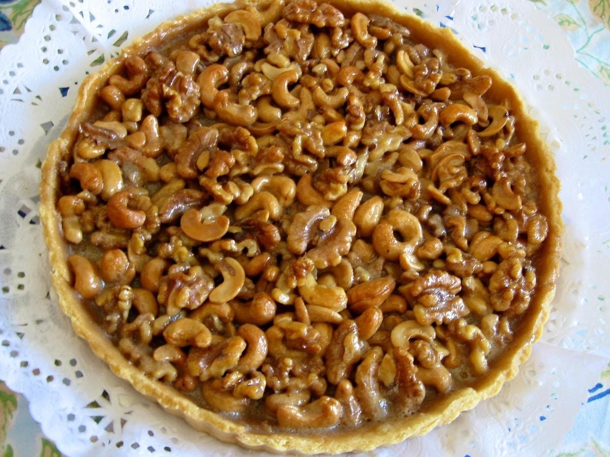 tarta de nueces