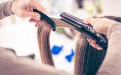 cómo planchar el pelo