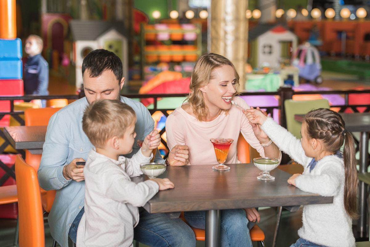 lugares para comer con chicos