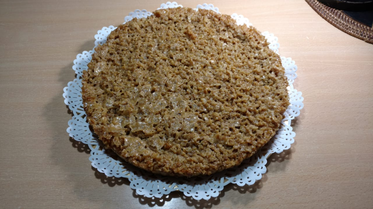 cómo hacer una torta de nueces