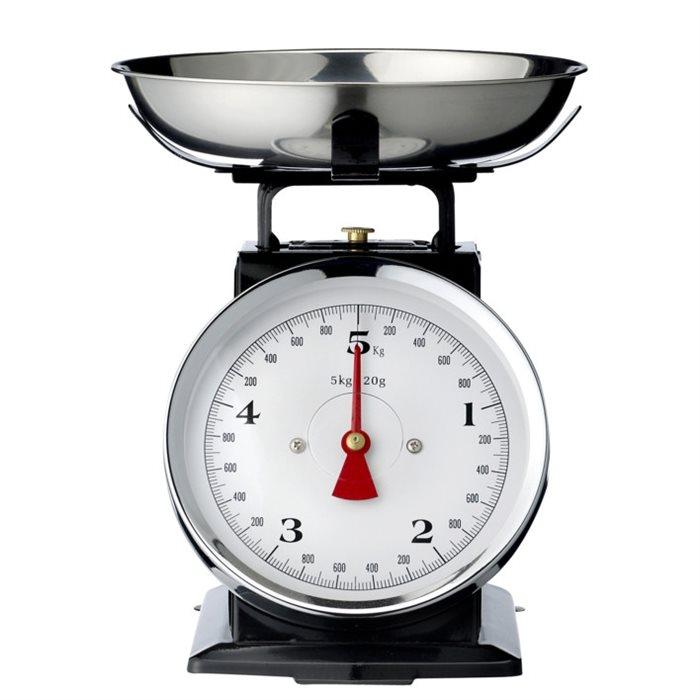 balanza de cocina con onda