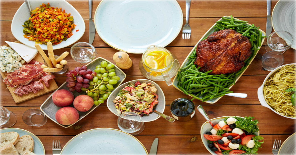 como reducir calorias en las fiestas
