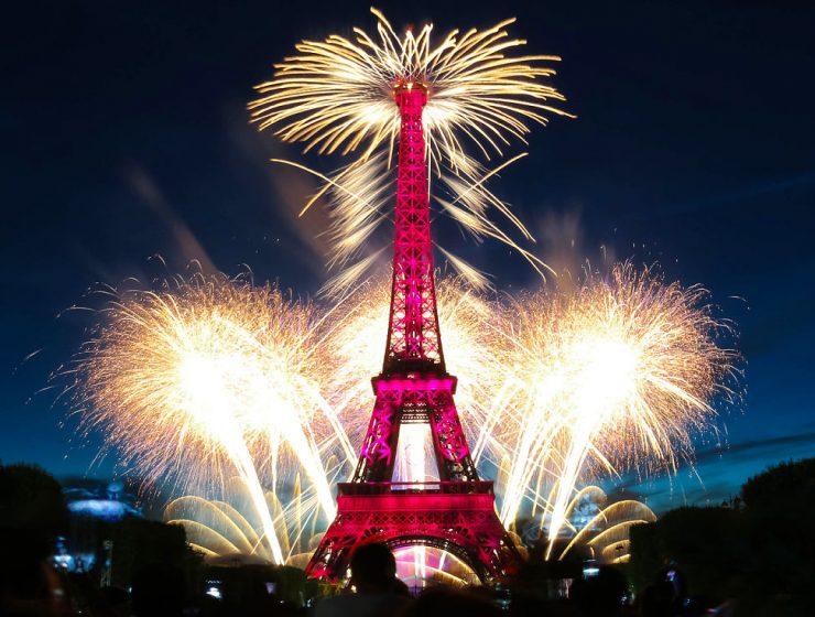 Cumpleaños de la torre eiffel