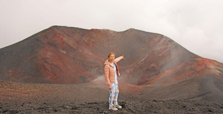 Subir al volcán Etna