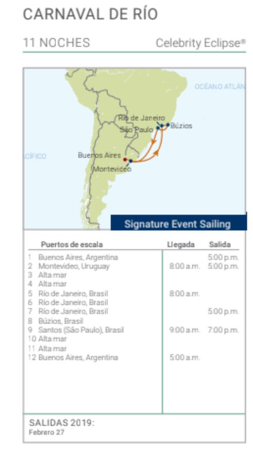 cruceros baratos a brasil