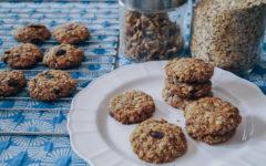 recetas fáciles cookies saludables
