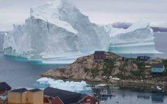 ruptura de un glaciar
